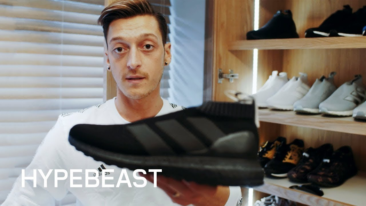 f297ac4eee85 HYPEBEAST Visits: Mesut Özil's Sneaker Closet and Mercedes Whips ...