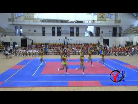 Aerobic   2  Bac Giang   Tu chon 8 nguoi   Trung hoc co so   HKPD KVII 2012