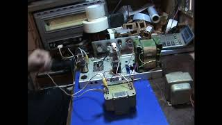 Выходные трансформаторы для 6п7с на железе от радиоприёмника рм 250