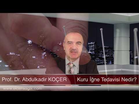 Kuru İgne Tedavisi Nedir ? - Prof.  Dr.  Abdulkadir KOÇER