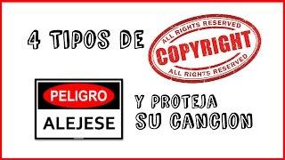 Como Registrar Mis Canciones Con los 4 Tipos De Copyrights (Derechos de Autor) thumbnail