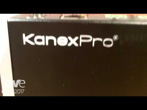 DSE 2017: KanexPro Shows EXT-HDRPT100M 4k HDBaseT Repeater