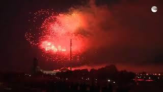 Салют в честь 75-летия освобождения Вильнюса