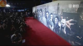 160929 Kris Wu Yi Fan and Chen Xuedong- L.O.R.D Premiere in Beijing Red Carpet