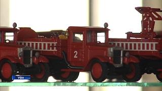 В Уфе сотрудник МЧС собрал коллекцию из 850 моделей пожарных машин