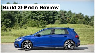 2019 Volkswagen Golf R w/DCC and Navigation - Build & Price Review: Features, Colors, Interior