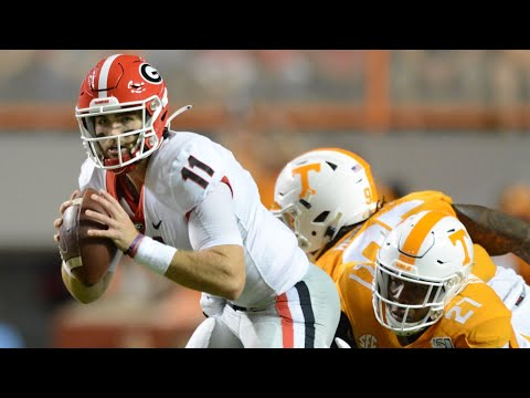 Dan's Football Page - GEORGIA QUARTERBACK JAKE FROMM SERENADES KNOXVILLE