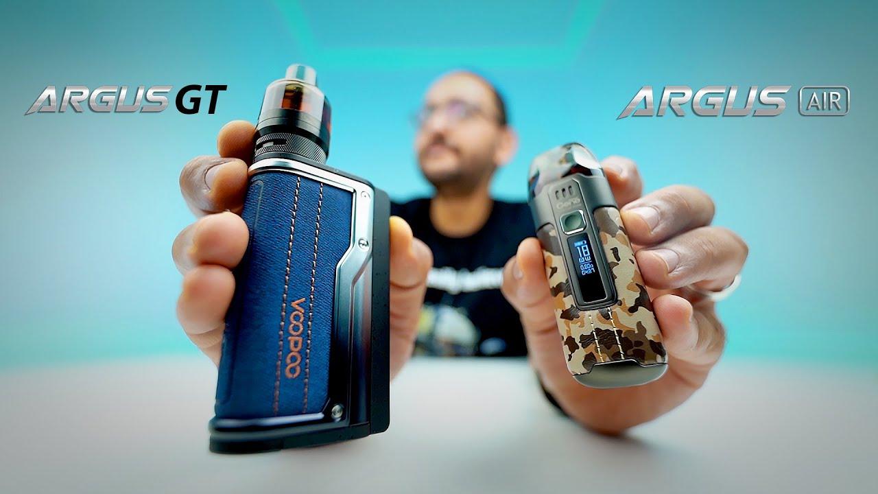 Voopoo Argus Air & GT 👋🏼 آخر فيديو بالطريقة التقليدية