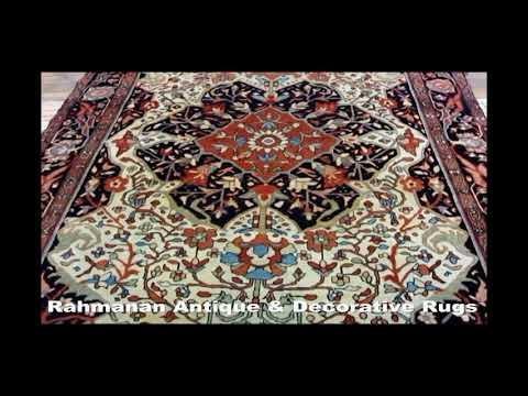 Antique MalayerMishanPersian Rug #20998 by Rahmanan