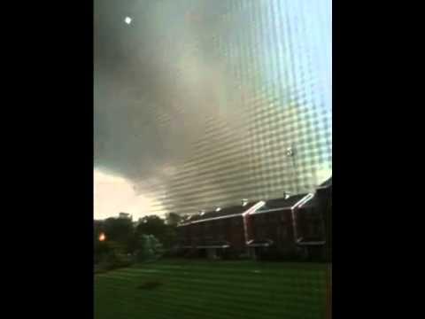 Tornado at Springfield College, MA