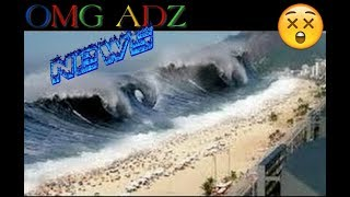 Durban, South Africa Mini Tsunami! 12-03-2017