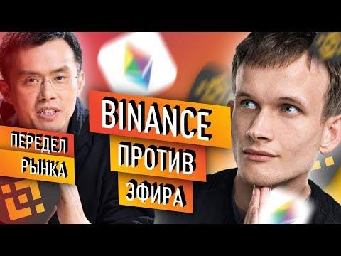 Binance Chain - главный конкурент Ethereum 2019 ? | Обзор блокчейна Бинанса и Эфир Виталика Бутерина