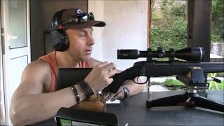 Прострелка на STEYR MANNLICHER PRO HUNTER 243 Win