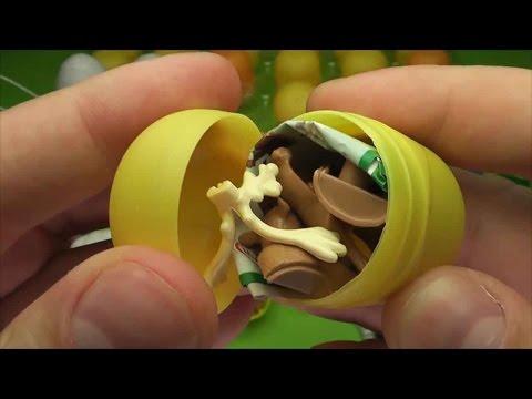 Киндер сюрприз картинки, видео, собираем коллекцию VIDEO FOR CHILDREN - Unboxing