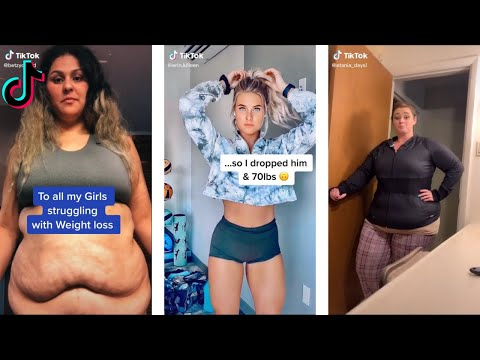 Best Weightloss Glow Ups that are Almost Unrecognizable! Motivational Tiktok Compilation Part 1