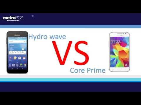 kyocera hydro wave  vs Core prime for metro pcs