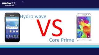kyocera hydro wave  vs Core prime for metro pcs