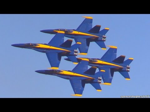 U.S.N. Blue Angels @ 2016 MCAS Miramar Air Show