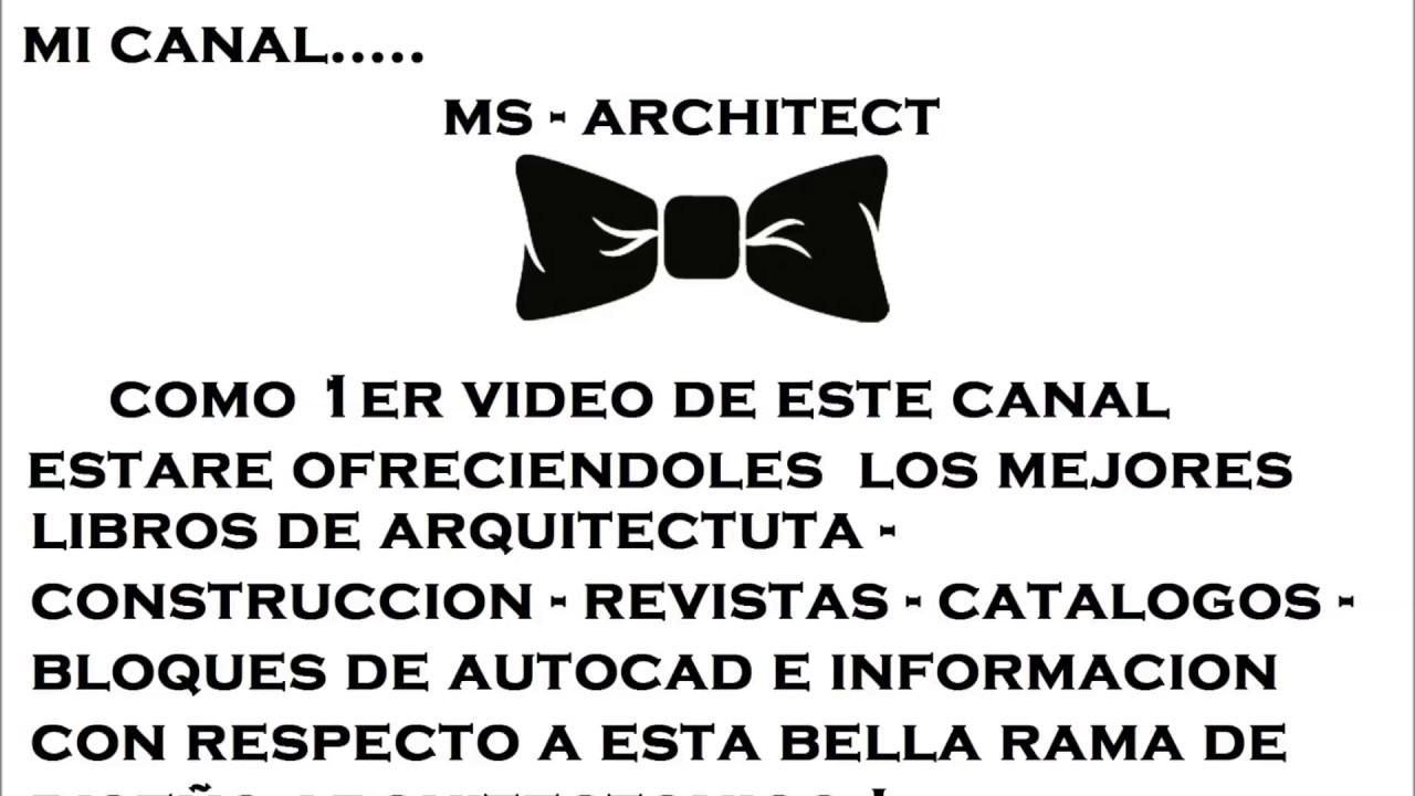 Libros De Arquitectura Gratis Pdf Youtube