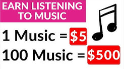 Earn $500 Daily Listening to Music for Free! (No Credit Card Needed) - Make Money Online