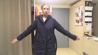 Демонстрация утепленного пальто 44 р и 48 р.