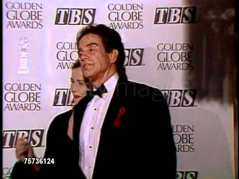 Bening and Beatty 1992 Golden Globes