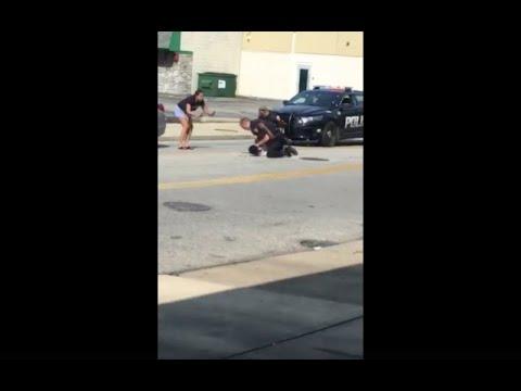 Euclid police officer on paid leave after video of violent arrest goes viral on Facebook