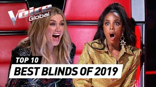 BEST BLIND AUDITIONS of 2019 | The Voice Rewind