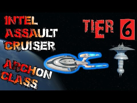 Intel Assault Cruiser – Archon Class [T6] – with all ship visuals - Star Trek Online