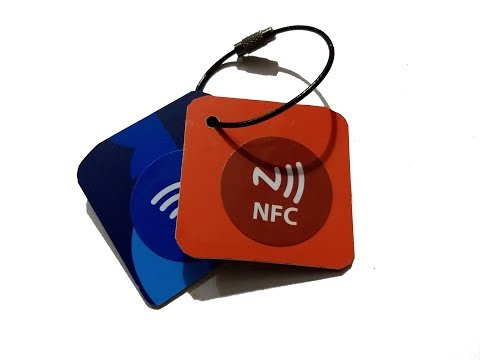 How To Make NFC Tag Keychain Plastic Recycle