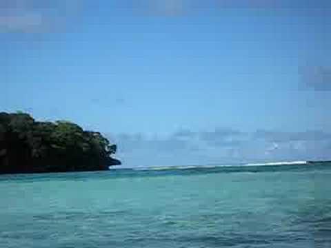 Kayaking quiet Tonga Turquoise Lagoons