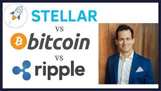 Stellar (XLM) vs Bitcoin (BTC) vs Ripple (XRP).  Stellar and Bitcoin can both be a store of value.