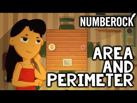 Perimeter & Area Song │ 3rd Grade Math Video For Elementary School Students