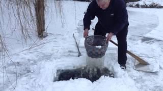 як зробити пастку для риби взимку