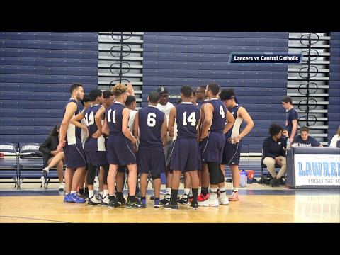 LHS Boys Volleyball vs Central Catholic 2017