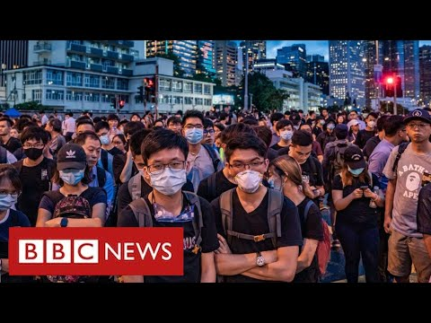 Millions in Hong Kong to gain rights to live and work in UK - BBC News