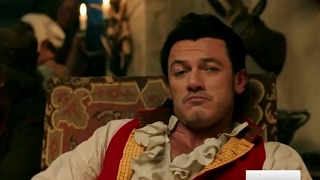 First Movie Clip of Beauty & The Beast's Gaston Released & NEW Songs Unveiled