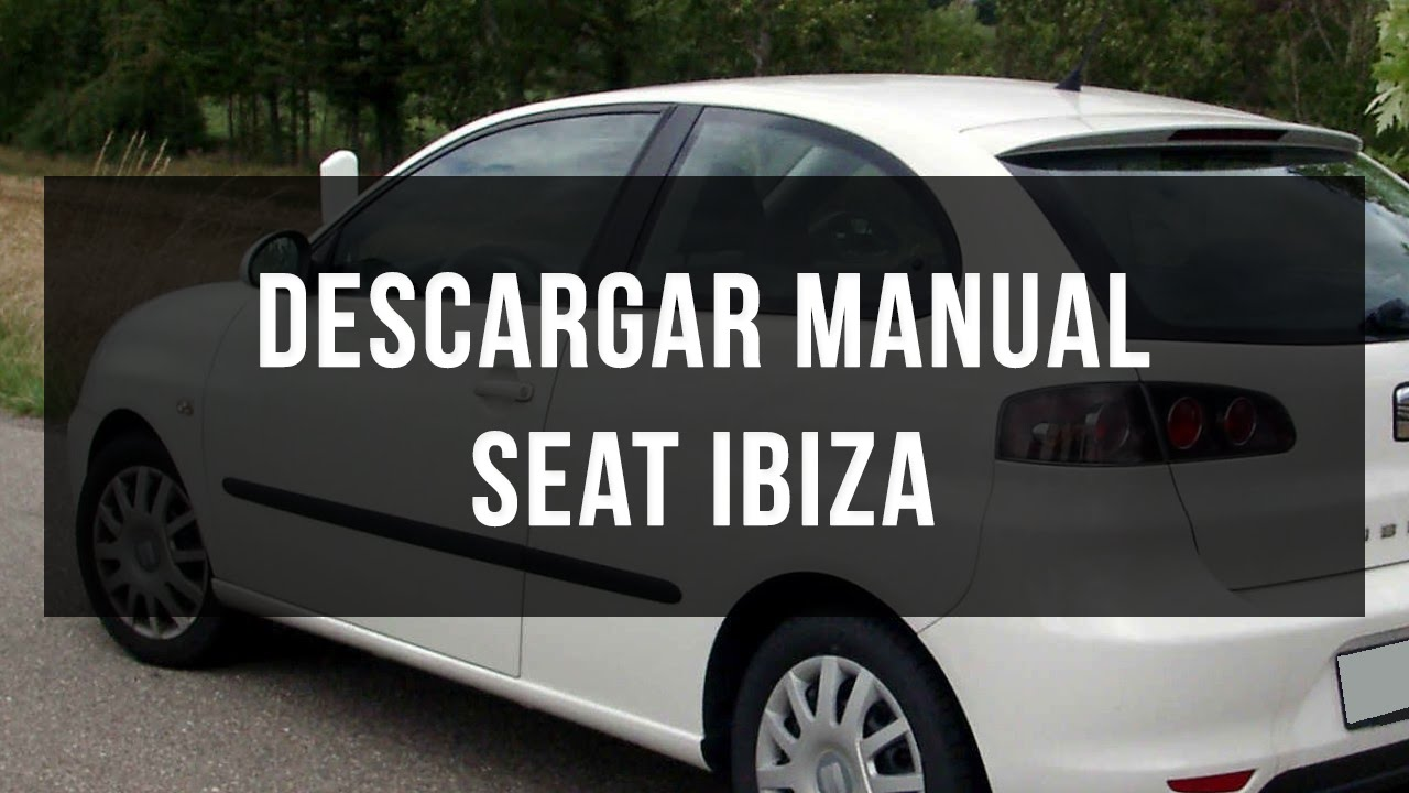 manual instrucciones seat ibiza 2010 open source user manual u2022 rh dramatic varieties com Seat Ibiza 2000 manual de usuario seat ibiza 2001 pdf