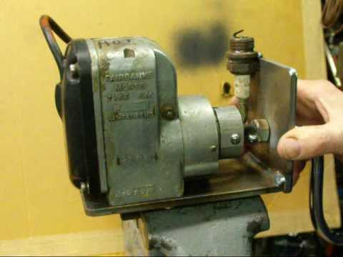 FAIRBANKS MORSE MAGNETO DEMONSTRATION Tubalcain on
