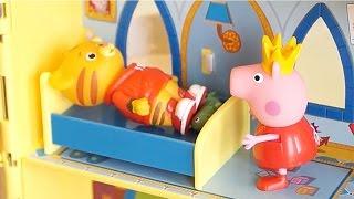 PEPPA PIG Italiano - Peppa si prepara per la Festa al Palazzo, tutti giocano a Nascondino [Storia]