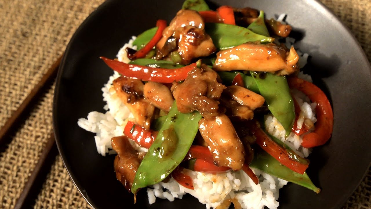 How To Make An Easy Chicken Stir Fry The Easiest Way Youtube