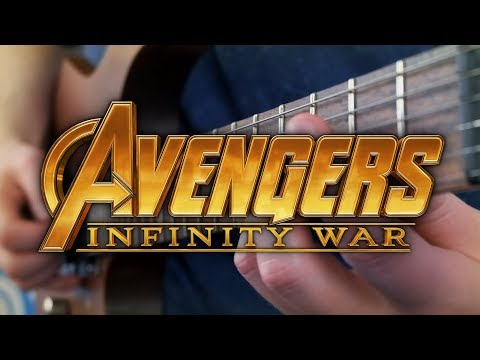 Avengers: Infinity War Trailer Theme on Guitar