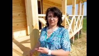 видео Баня 6 на 6 из бруса: проект, планировка, фото