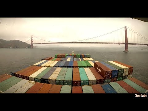 Time-lapse - Arrival at Oakland, San Francisco Bay Area