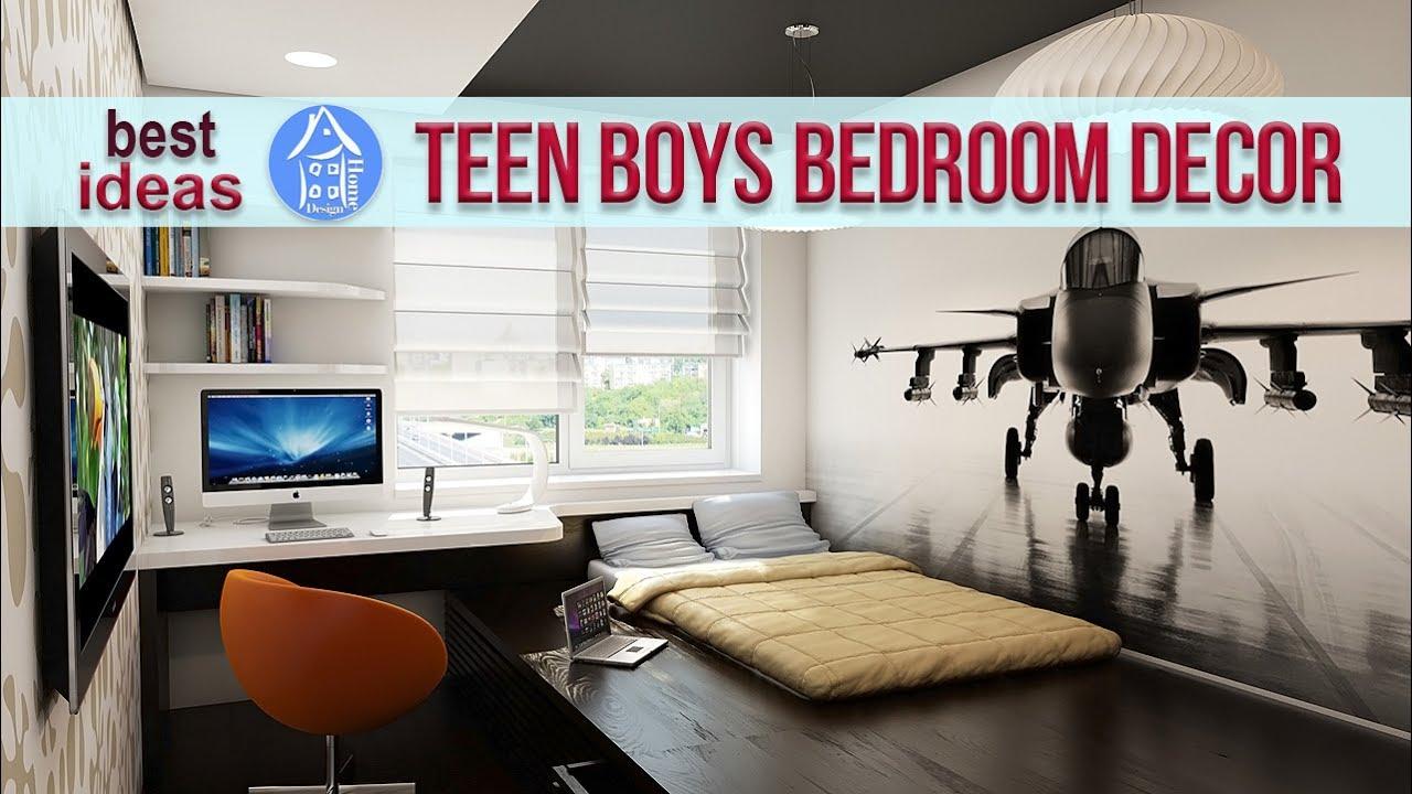 Teen Boy Room Ideas - 25+ Cool Teen Boys Bedroom Designs ... on Teenage Room Ideas Boy  id=13083