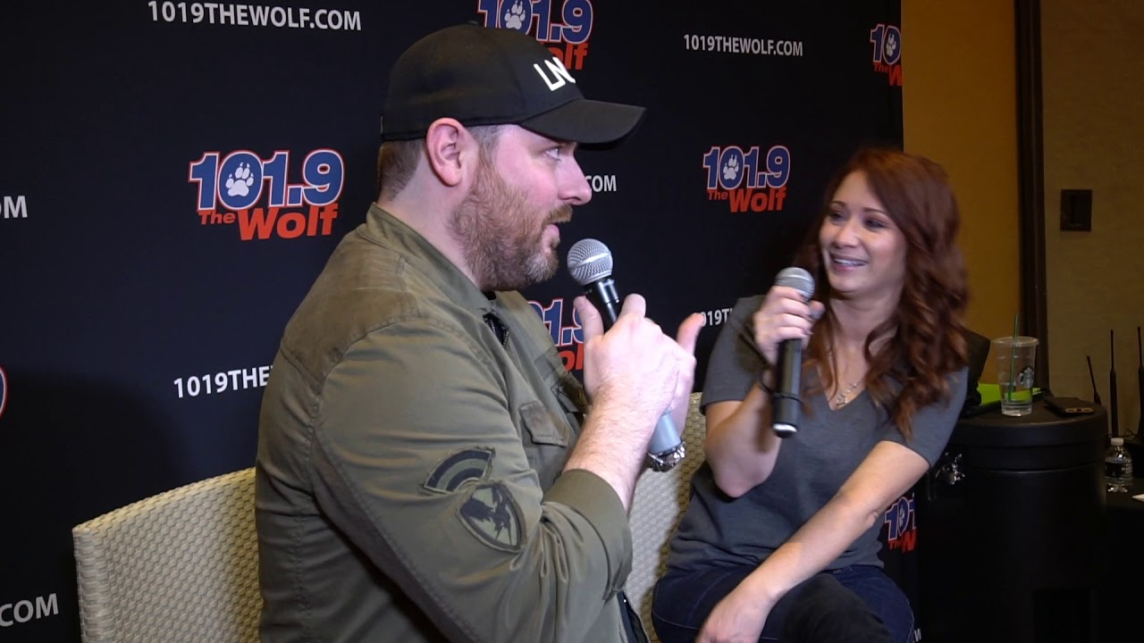 Chris Young interview in Las Vegas