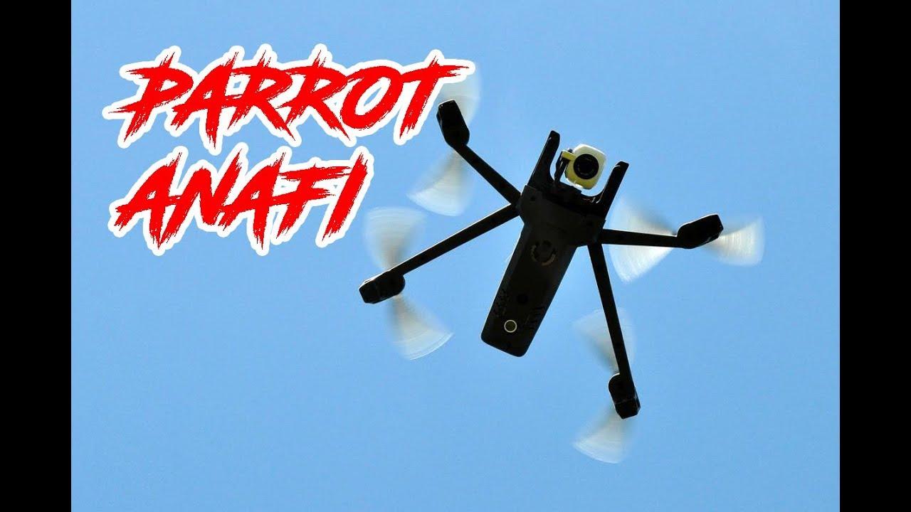 Test du Parrot Anafi : tout ce qu'il faut savoir