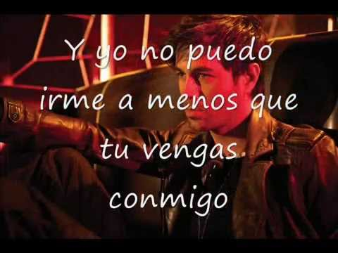 Enrique Iglesias - On Top Of You (Subtitulado al Español)