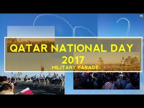 FULL!!! Qatar National Day Parade 2017 - Corniche Doha #QND 2017