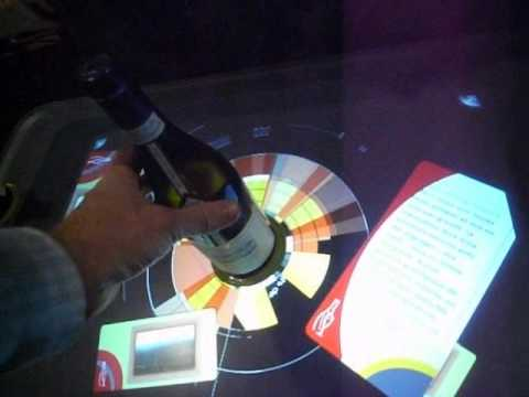 Interactive wine table